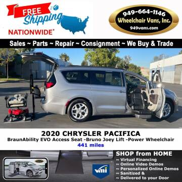 2020 Chrysler Pacifica for sale at Wheelchair Vans Inc - New and Used in Laguna Hills CA