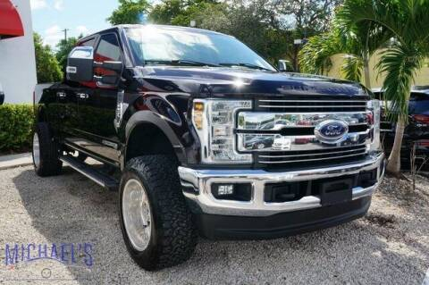 2019 Ford F-250 Super Duty for sale at Michael's Auto Sales Corp in Hollywood FL