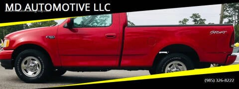 2003 Ford F-150 for sale at MD AUTOMOTIVE LLC in Slidell LA