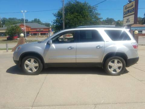 2007 GMC Acadia for sale at RIVERSIDE AUTO SALES in Sioux City IA