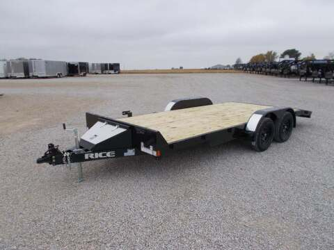 2021 Rice Trailers 7K Car Hauler