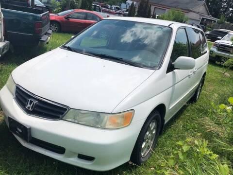 2002 Honda Odyssey for sale at ALVAREZ AUTO SALES in Des Moines IA
