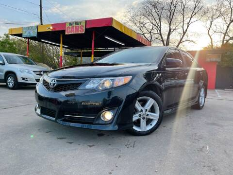 2012 Toyota Camry for sale at Cash Car Outlet in Mckinney TX