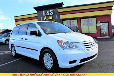 2010 Honda Odyssey for sale at L & S AUTO BROKERS in Fredericksburg VA