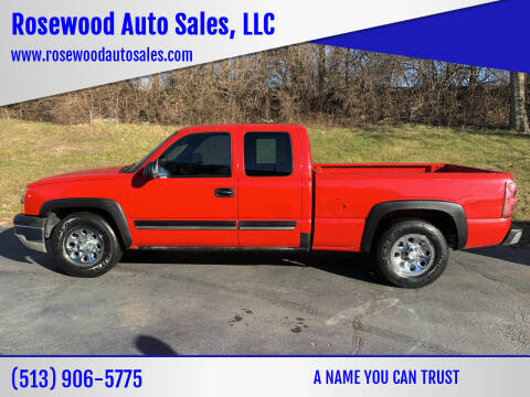2003 Chevrolet Silverado 1500 for sale at Rosewood Auto Sales, LLC in Hamilton OH