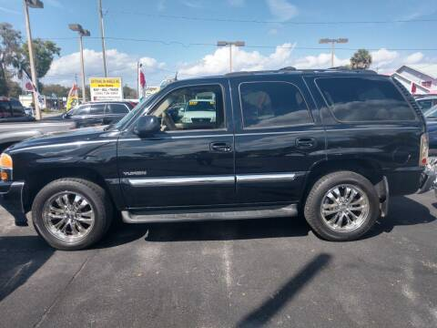 2005 GMC Yukon for sale at ANYTHING ON WHEELS INC in Deland FL