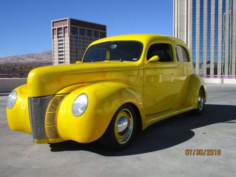 1940 Ford Custom for sale at Sierra Classics & Imports in Reno NV