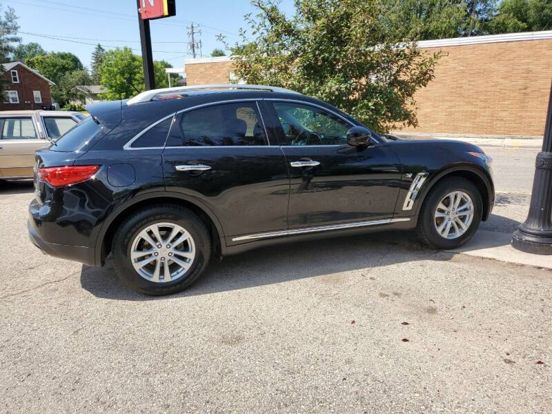 2014 Infiniti QX70 for sale at KUDICK AUTOMOTIVE in Coleman WI