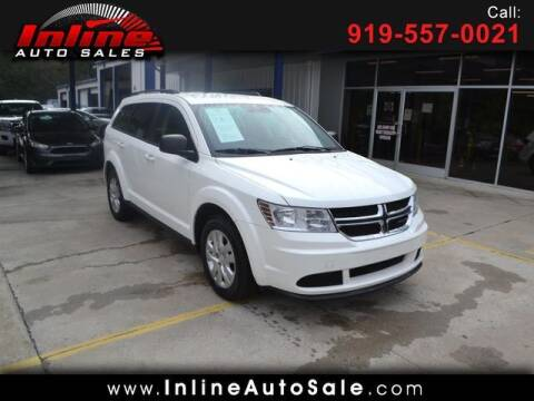 2017 Dodge Journey for sale at Inline Auto Sales in Fuquay Varina NC