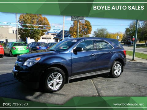 2015 Chevrolet Equinox for sale at Boyle Auto Sales in Appleton WI