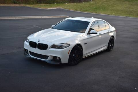 2014 BMW 5 Series for sale at Alpha Motors in Knoxville TN