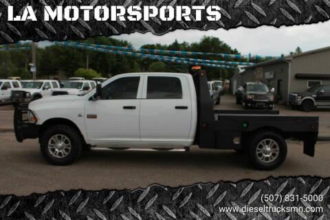 2011 RAM Ram Pickup 2500 for sale at LA MOTORSPORTS in Windom MN