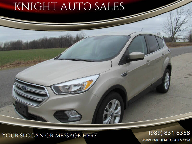 2017 Ford Escape for sale at KNIGHT AUTO SALES in Stanton MI
