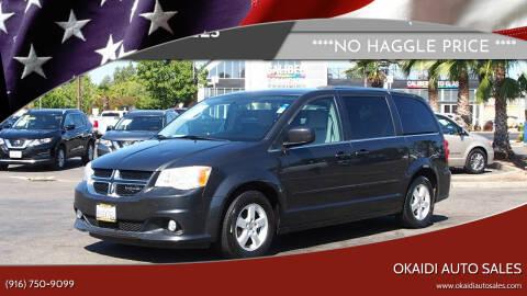 2011 Dodge Grand Caravan for sale at Okaidi Auto Sales in Sacramento CA