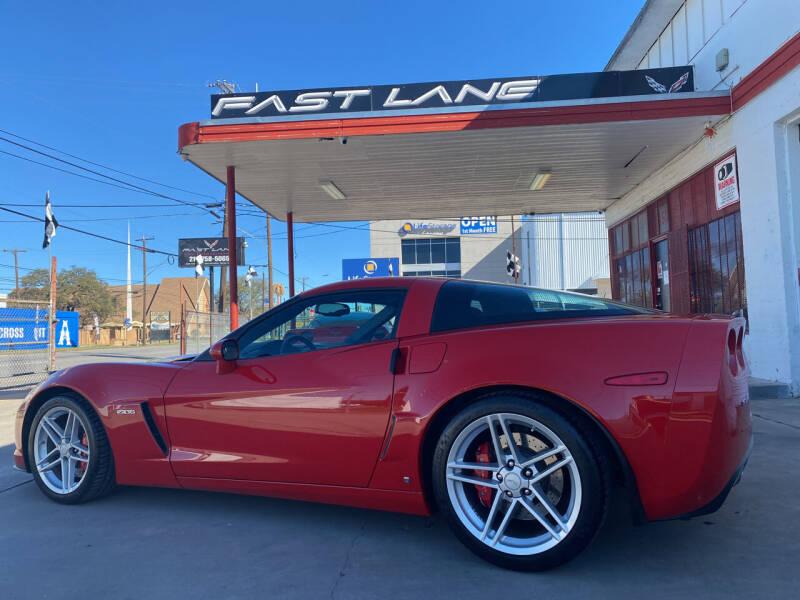 2007 Chevrolet Corvette for sale at FAST LANE AUTO SALES in San Antonio TX