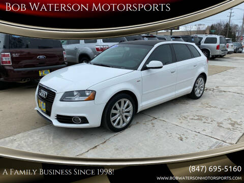 2011 Audi A3 for sale at Bob Waterson Motorsports in South Elgin IL