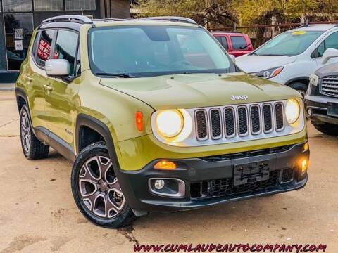 2015 Jeep Renegade for sale at MAGNA CUM LAUDE AUTO COMPANY in Lubbock TX