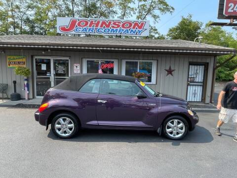 2005 Chrysler PT Cruiser for sale at Johnson Car Company llc in Crown Point IN