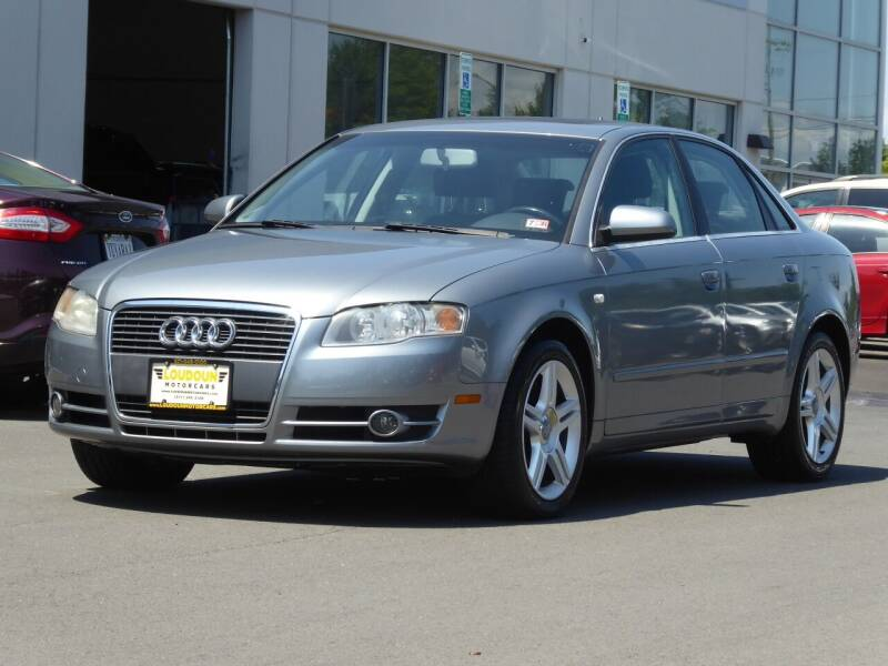 2007 Audi A4 for sale at Loudoun Used Cars - LOUDOUN MOTOR CARS in Chantilly VA