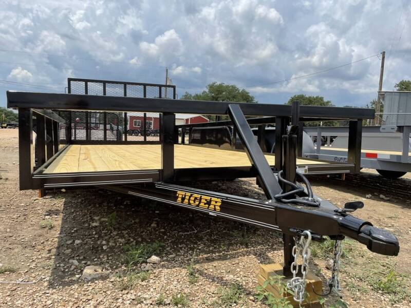 """2021 TIGER -  83"""" X 16' - GATE -H.D  for sale at LJD Sales in Lampasas TX"""