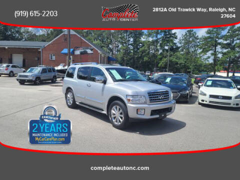 2008 Infiniti QX56 for sale at Complete Auto Center , Inc in Raleigh NC