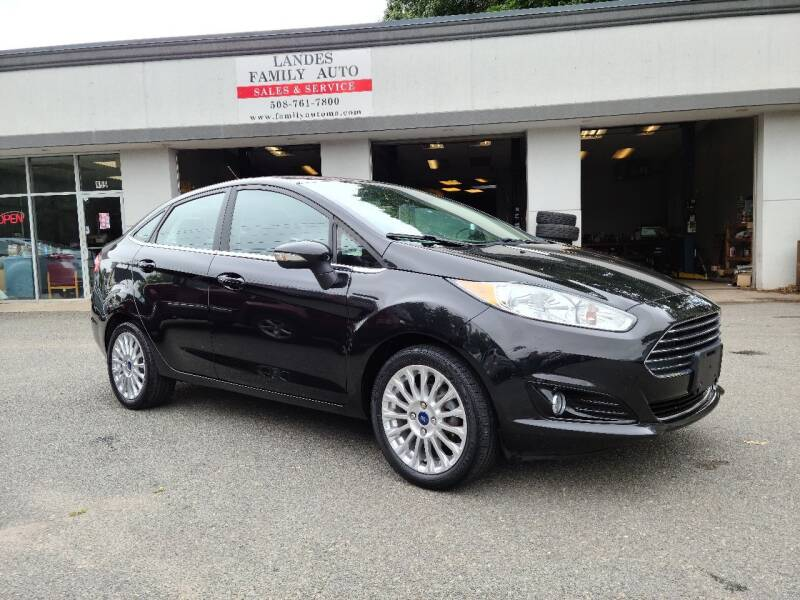 2015 Ford Fiesta for sale at Landes Family Auto Sales in Attleboro MA