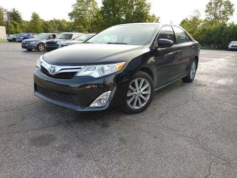 2012 Toyota Camry Hybrid for sale at Cruisin' Auto Sales in Madison IN
