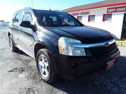 2005 Chevrolet Equinox for sale at Sarpy County Motors in Springfield NE