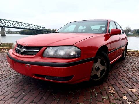 2001 Chevrolet Impala for sale at PUTNAM AUTO SALES INC in Marietta OH
