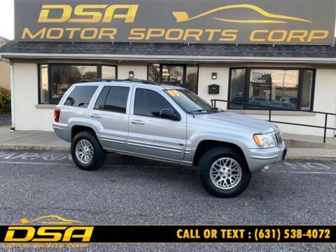 2003 Jeep Grand Cherokee for sale at DSA Motor Sports Corp in Commack NY