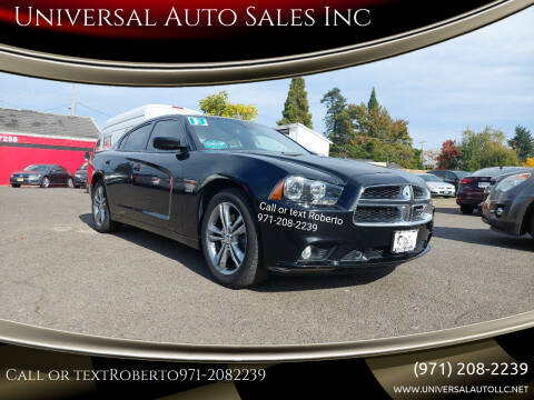 2013 Dodge Charger for sale at Universal Auto Sales Inc in Salem OR