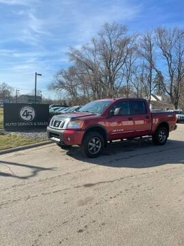 2014 Nissan Titan for sale at Station 45 Auto Sales Inc in Allendale MI