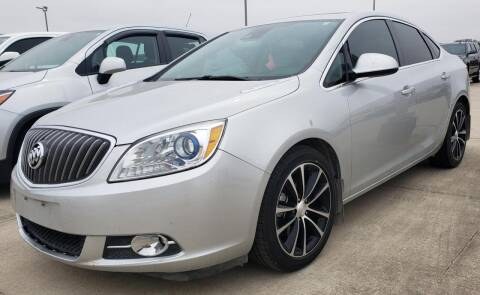 2017 Buick Verano for sale at Lipscomb Auto Center in Bowie TX