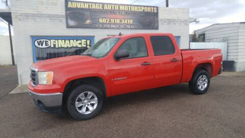 2009 GMC Sierra 1500 for sale at Advantage Auto Motorsports in Phoenix AZ