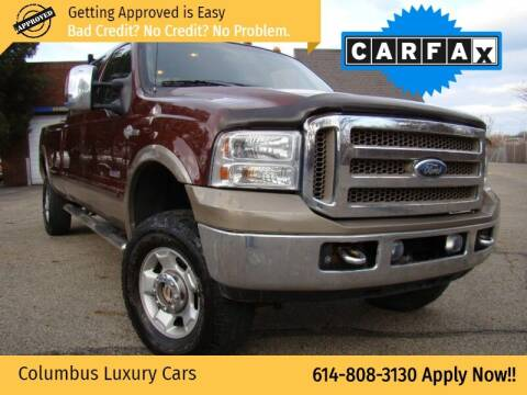 2006 Ford F-350 Super Duty for sale at Columbus Luxury Cars in Columbus OH