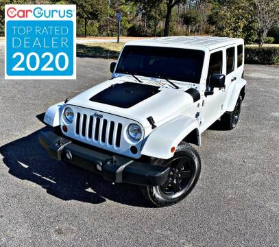 2012 Jeep Wrangler Unlimited for sale at Brothers Auto Sales of Conway in Conway SC