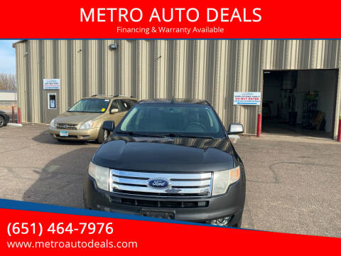 2007 Ford Edge for sale at METRO AUTO DEALS in Forest Lake MN