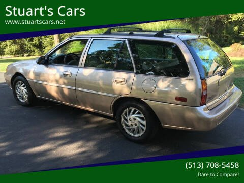 1999 Ford Escort for sale at Stuart's Cars in Cincinnati OH