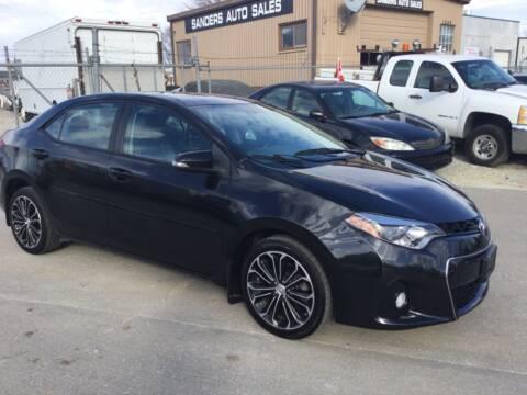 2015 Toyota Corolla for sale at Sanders Auto Sales in Lincoln NE
