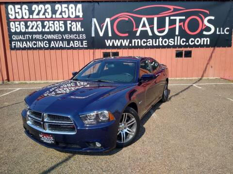 2014 Dodge Charger for sale at MC Autos LLC in Pharr TX