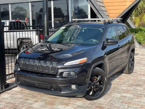 2015 Jeep Cherokee for sale at Unique Motors of Tampa in Tampa FL