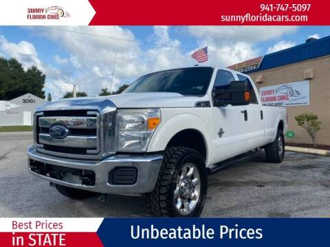 2015 Ford F-250 Super Duty for sale at Sunny Florida Cars in Bradenton FL
