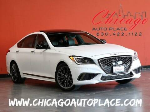 2018 Genesis G80 for sale at Chicago Auto Place in Bensenville IL