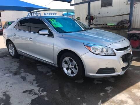 2015 Chevrolet Malibu for sale at Autos Montes in Socorro TX