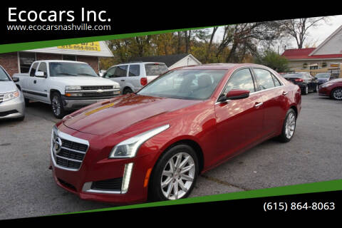 2014 Cadillac CTS for sale at Ecocars Inc. in Nashville TN