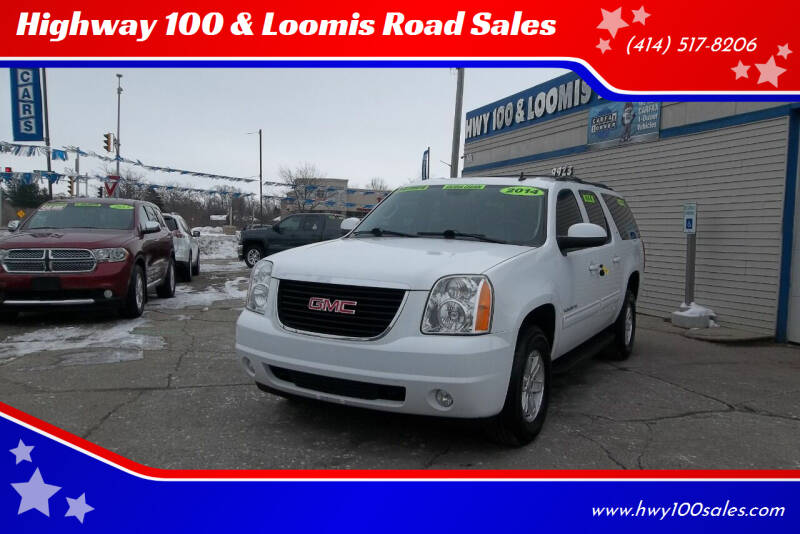 2014 GMC Yukon XL for sale at Highway 100 & Loomis Road Sales in Franklin WI