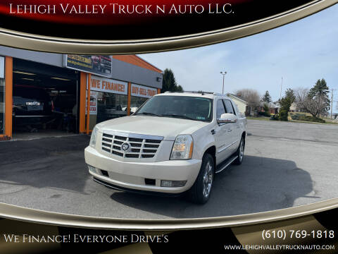 2007 Cadillac Escalade EXT for sale at Lehigh Valley Truck n Auto LLC. in Schnecksville PA