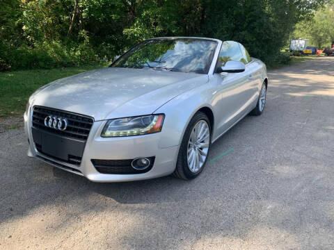 2011 Audi A5 for sale at Triangle Auto Sales in Elgin IL