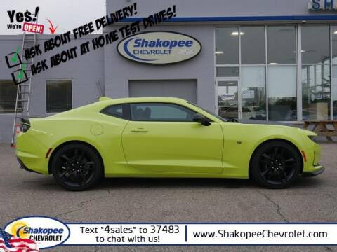 2021 Chevrolet Camaro for sale at SHAKOPEE CHEVROLET in Shakopee MN