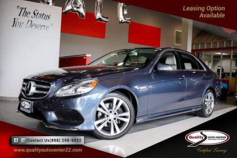 2016 Mercedes-Benz E-Class for sale at Quality Auto Center in Springfield NJ